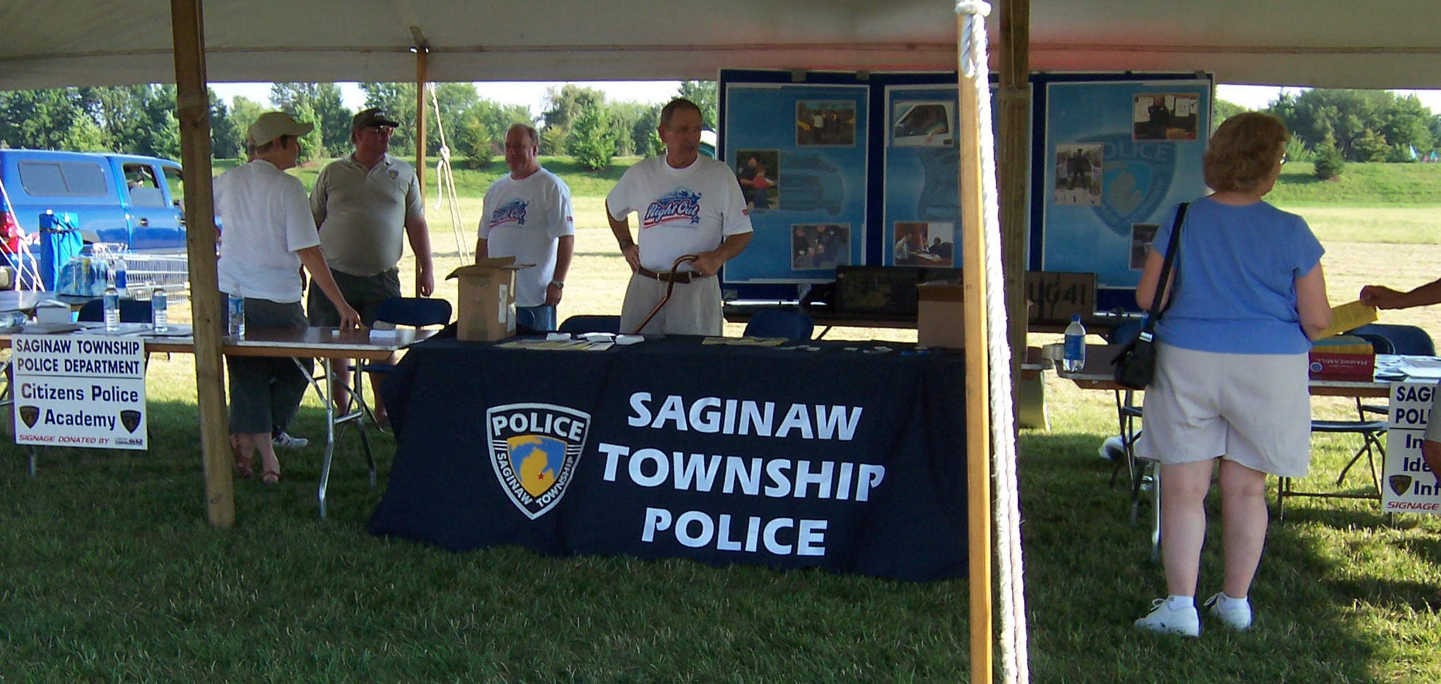 Saginaw Township Police Department- National Night Out